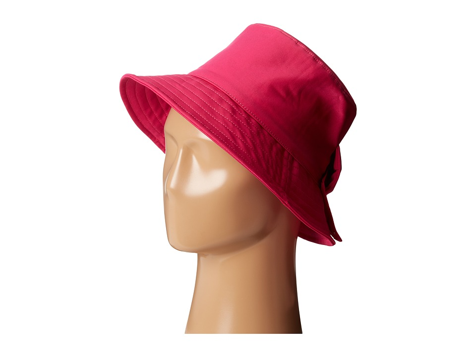 Kate Spade New York - Nylon Bucket Hat (Sweetheart Pink) Caps