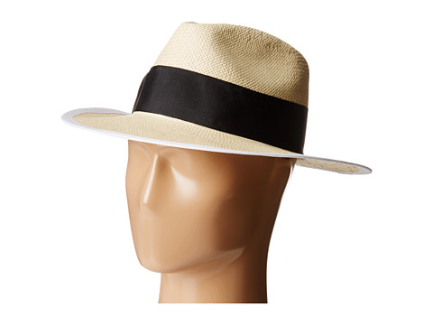Kate Spade New York - Panama Hat (Cream) Traditional Hats