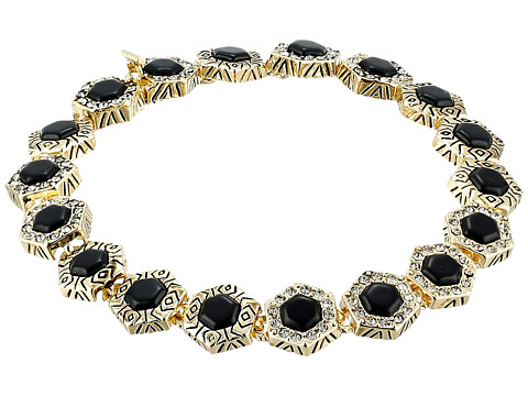 House of Harlow 1960 - Hexes Tennis Bracelet (Black) Bracelet