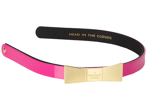Kate Spade New York - Metal Bow Headband (Sweetheart Pink) Headband