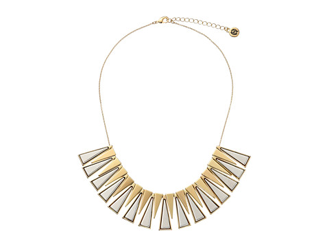 House of Harlow 1960 - Trapezio Collar Necklace (Gold/Silver) Necklace