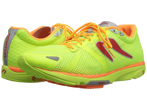 Newton Running - Distance IV (Citron/Orange) Men's Running Shoes