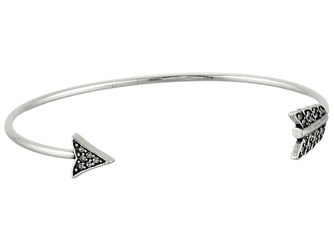 House of Harlow 1960 - Arrow Affair Cuff Bracelet (Silver) Bracelet