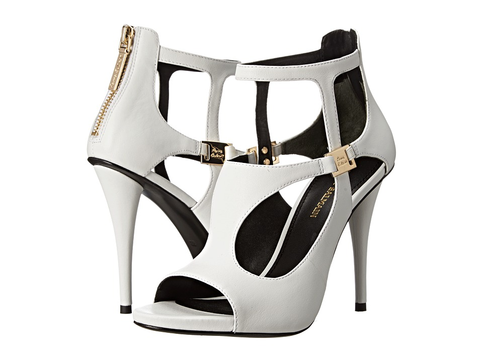 Pierre Balmain Cutout Open Toe Sandal (White) Women