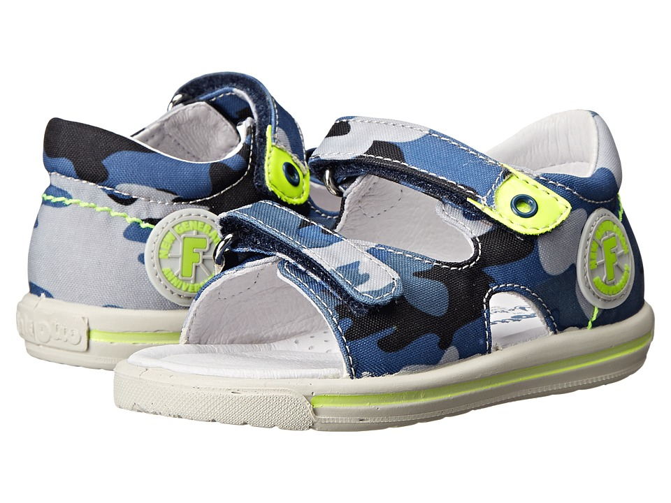 Naturino - Falcotto 1270 SP15 (Toddler) (Blue Multi) Boys Shoes