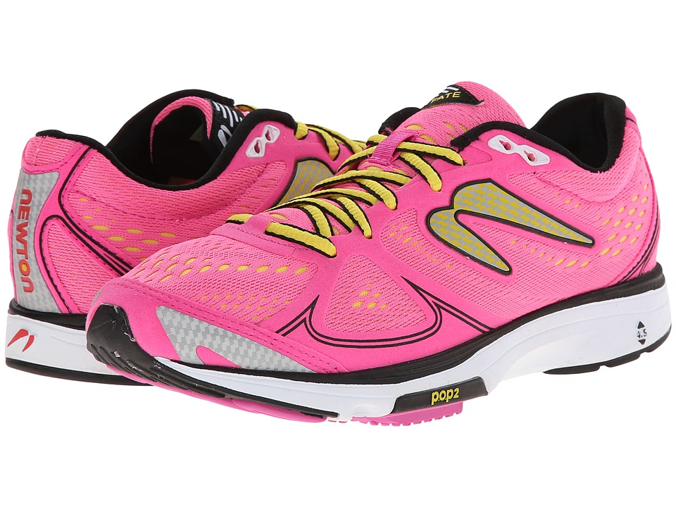 Newton Running - Fate (Pink/Yellow) Women's Running Shoes