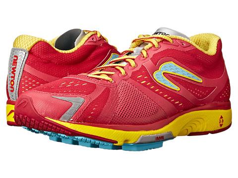 Newton Running - Motion IV (Cranberry/Yellow) Women