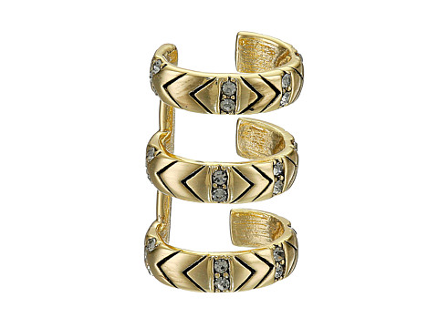 House of Harlow 1960 - Shakti Earrings Cuff (Gold) Earring