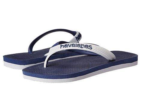 Havaianas - Casual Flip Flops (Navy Blue/Grey) Men