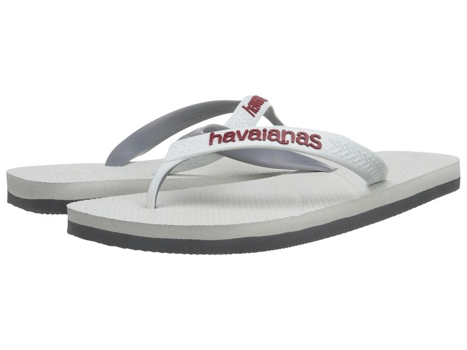 Havaianas - Casual Flip Flops (White/White) Men