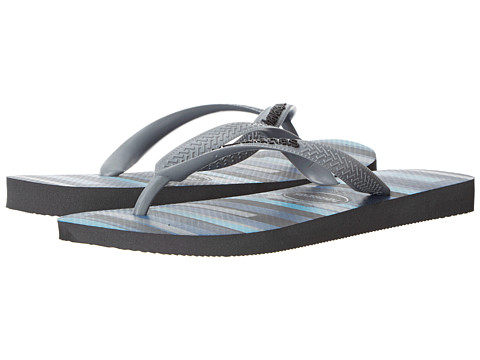 Havaianas - Trend Flip Flops (Grey/Black) Men's Sandals