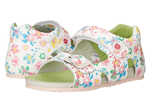 Naturino - Falcotto 1406 SP15 (Toddler) (White Floral Print) Girls Shoes