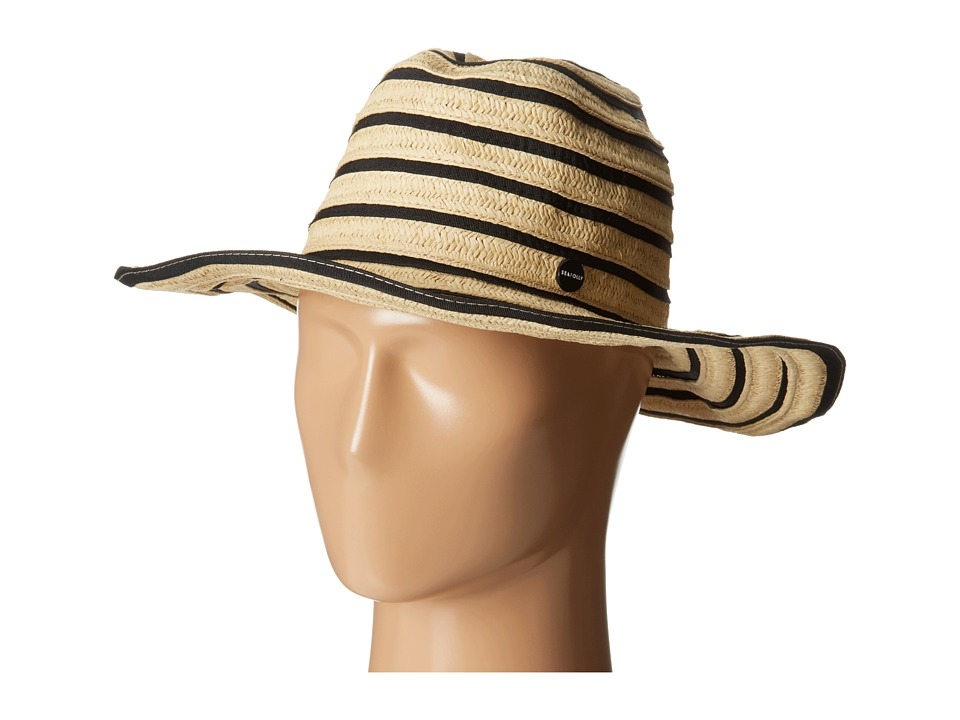 Seafolly - Gelato Coyote Hat (Black) Caps