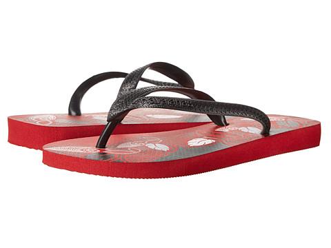 Havaianas - Aloha Flip Flops (Apache Red/Black) Men