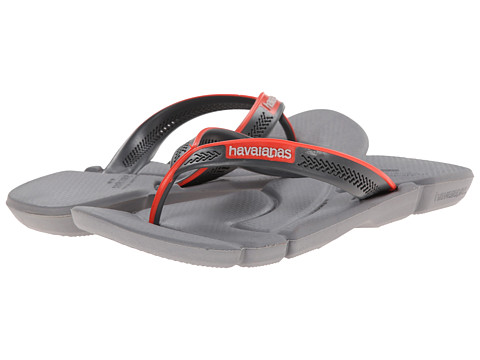 Havaianas - Power Flip Flops (Steel Grey) Men