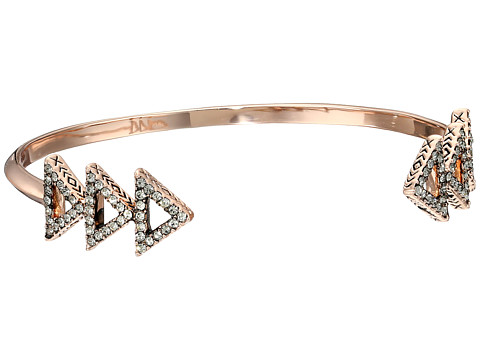 House of Harlow 1960 - Tessellation Cuff Bracelet (Rose Gold) Bracelet