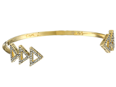 House of Harlow 1960 - Tessellation Cuff Bracelet (Gold) Bracelet