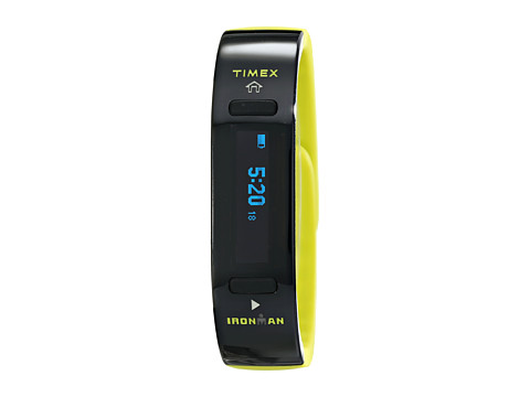 Timex - Ironman Move X20 Activity Tracker Full-Size Watch (Black/Lime Green) Watches