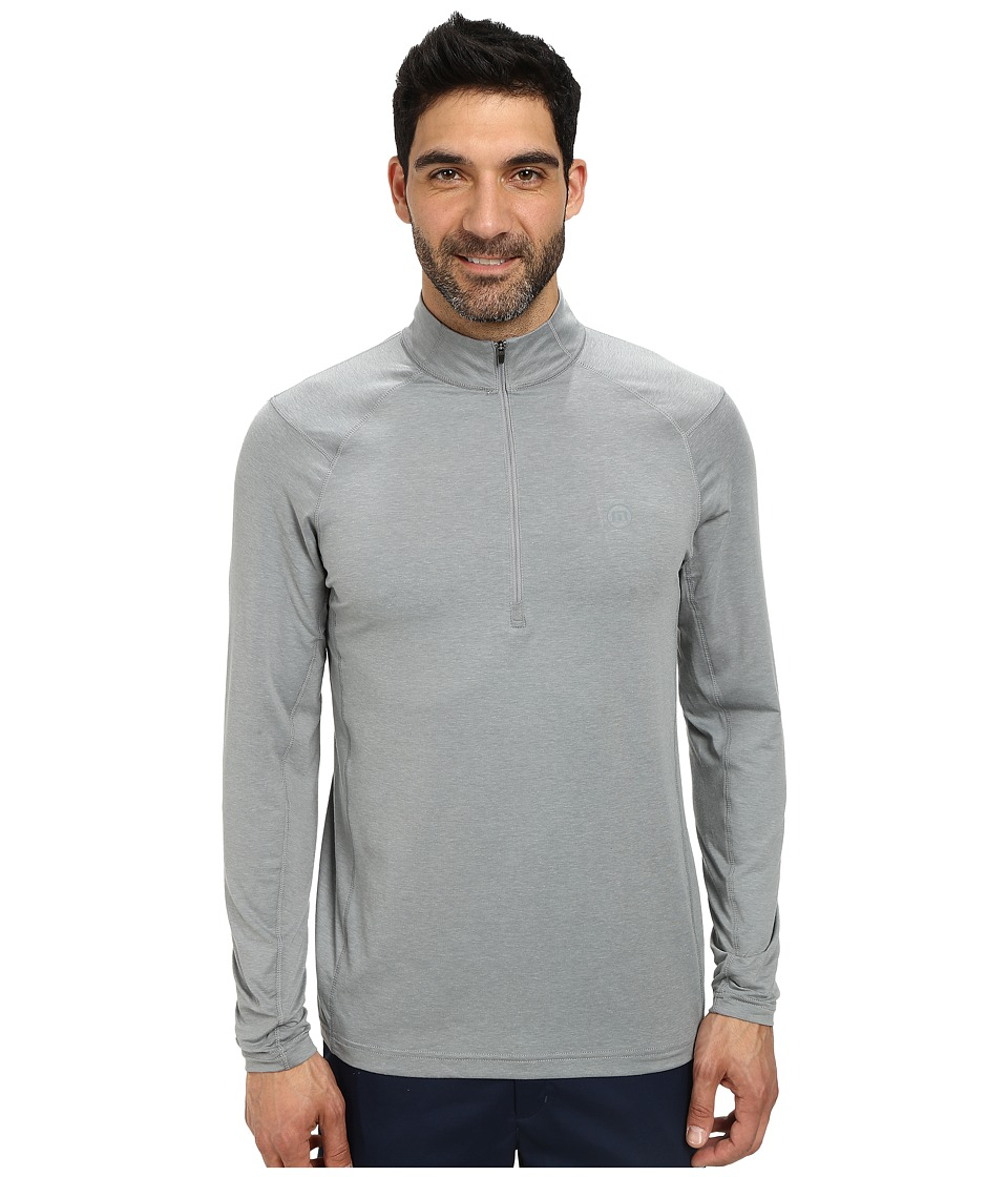 TravisMathew - Yankee Top (Heather Monument) Men's Sweatshirt