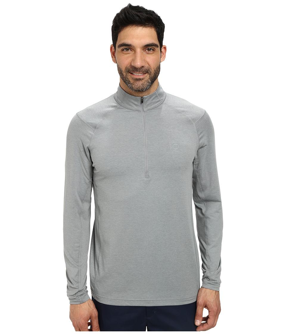 TravisMathew - Yankee Top (Heather Monument) Men's Sweatshirt