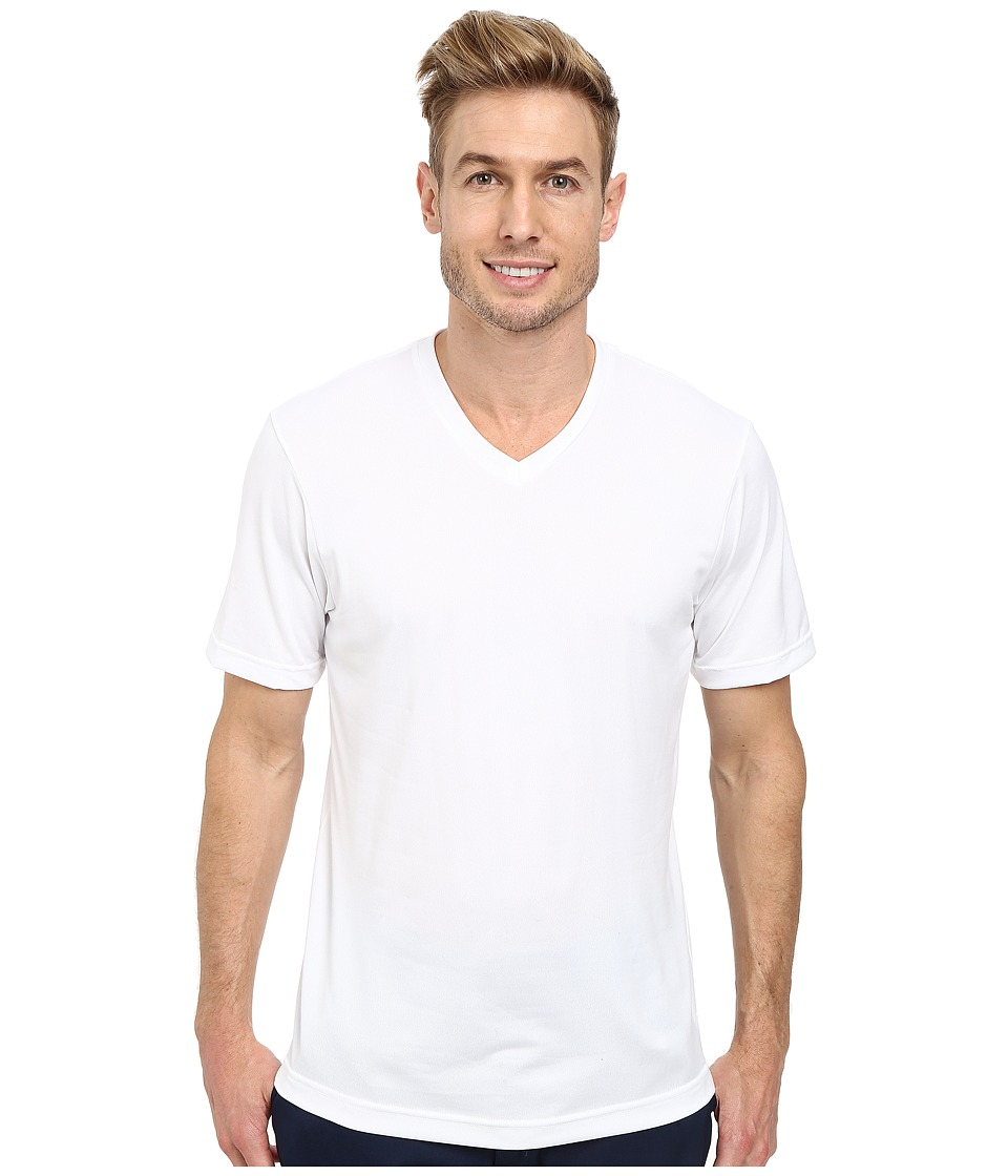 TravisMathew - Peter Top (White) Men's Short Sleeve Knit