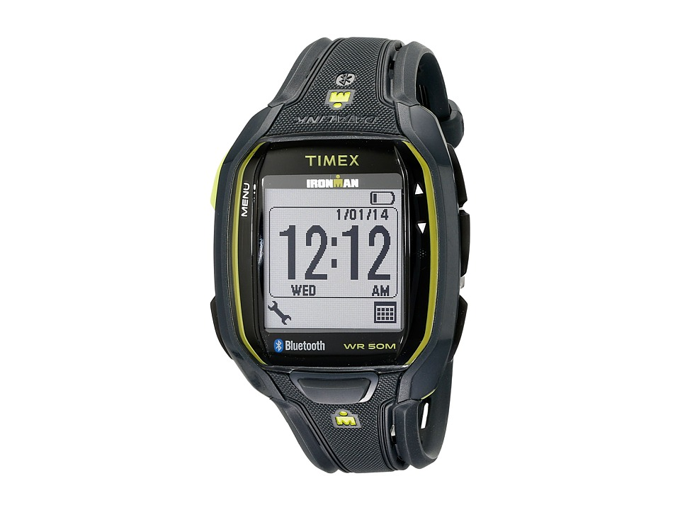 Timex - Ironman Run X50+ Watch (Black/Green) Watches
