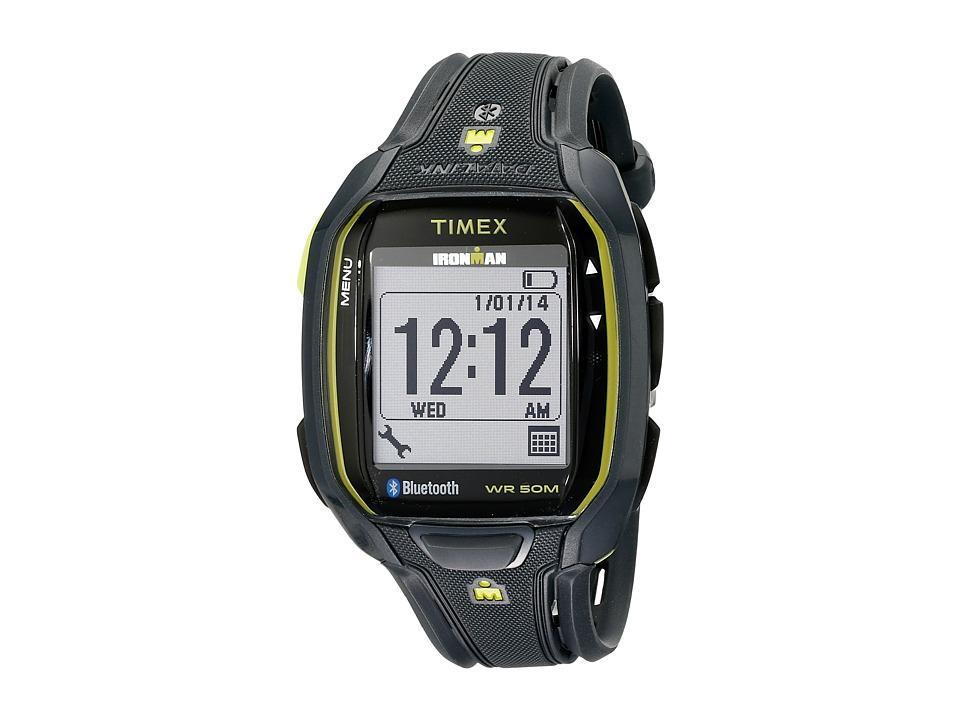 Timex - Ironman Run X50+ Watch (Black/Green) Watches