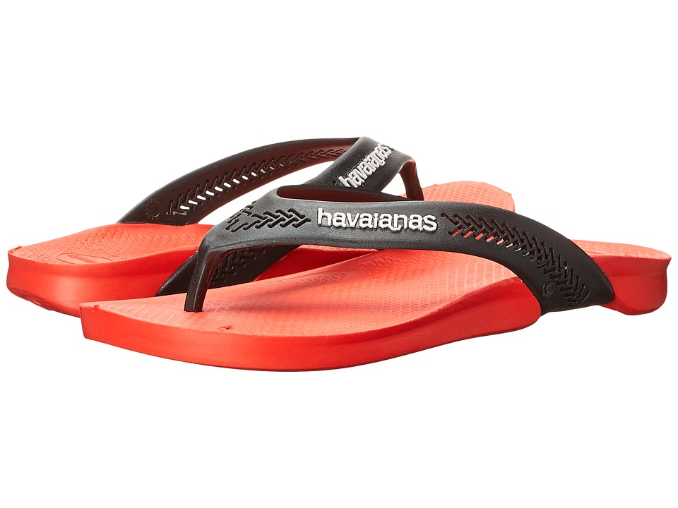 Havaianas - Wide Flip Flops (Strawberry) Men's Sandals