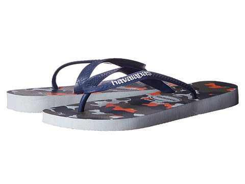 Havaianas - Top Camuflada Flip Flops (Ice Grey) Men