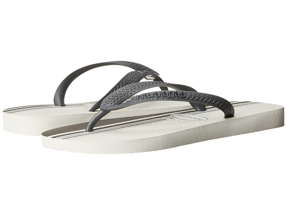 Havaianas - Top Basic Flip Flops (White) Men
