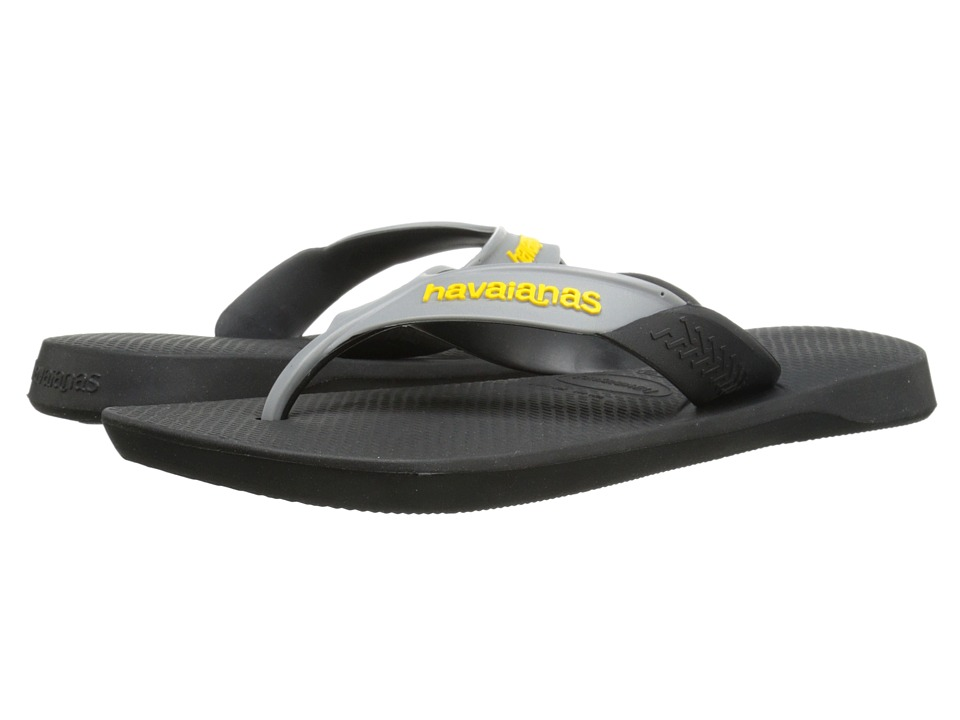 Havaianas - Dynamic Flip Flops (Black) Men's Sandals