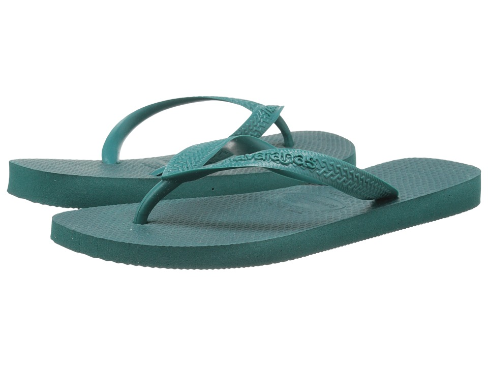 Havaianas - Top Flip Flops (Green) Men's Sandals