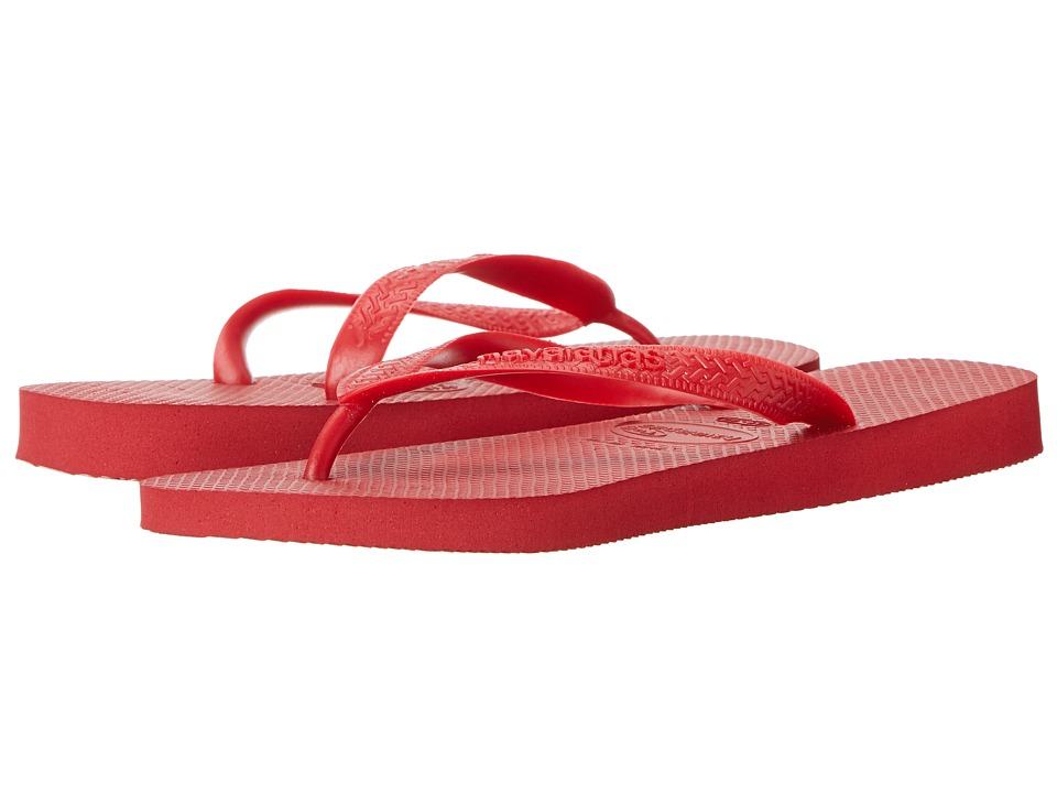 Havaianas - Top Flip Flops (Red) Men's Sandals