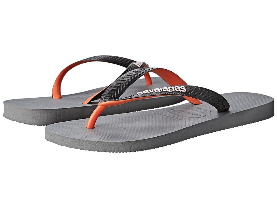 Havaianas - Top Mix Flip Flops (Steel Grey) Men's Sandals