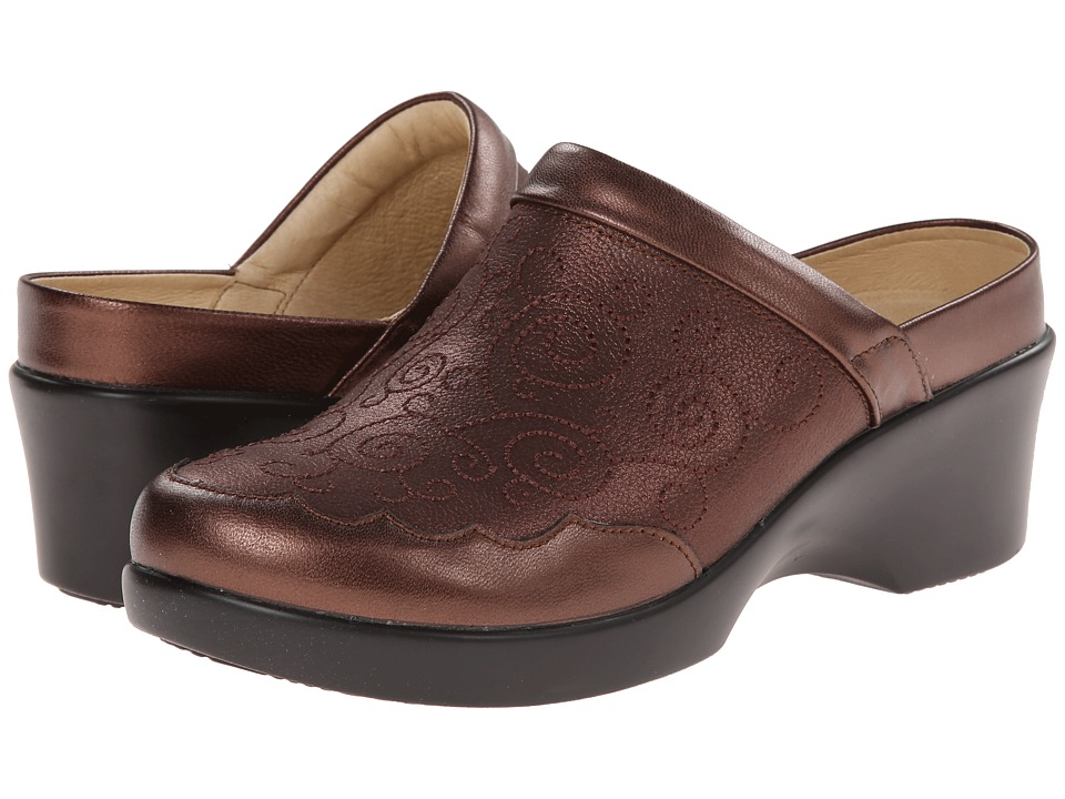 Alegria - Isabelle (Bronze Easy) Women's Clog Shoes