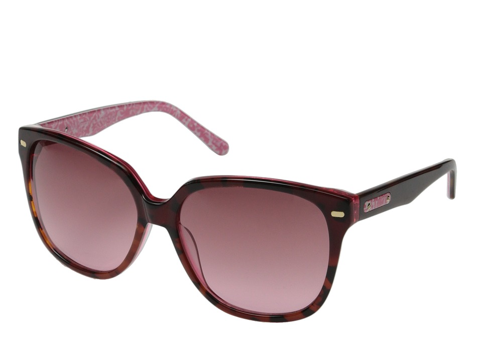 Lilly Pulitzer - Courtney (Pink Tortoise/ Party Favors) Fashion Sunglasses
