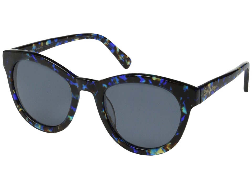 Lilly Pulitzer - Hartley (Blue Tortoise) Fashion Sunglasses