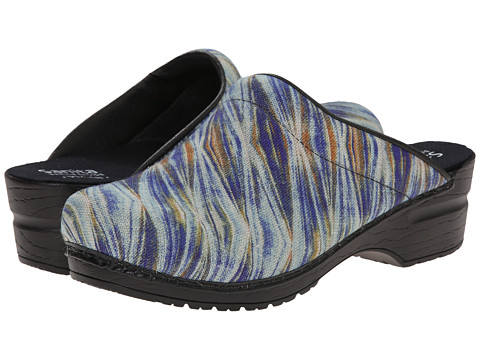 Sanita - Original Vegan Professional Nova (Blue) Women's Clog Shoes