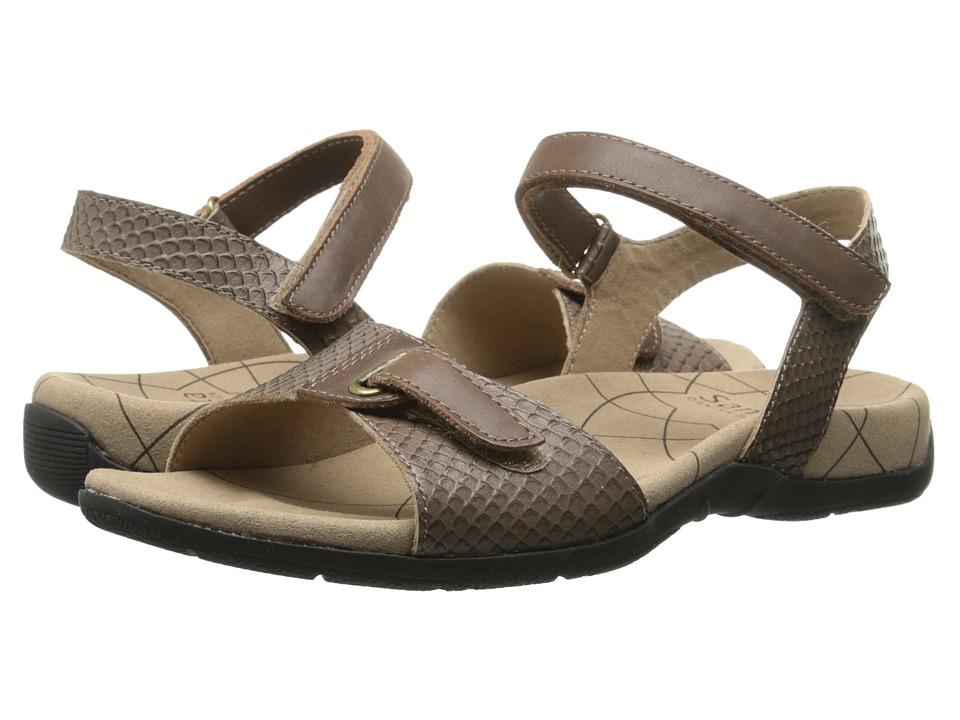 Sanita - Claudia (Brown Snake) Women's Sandals