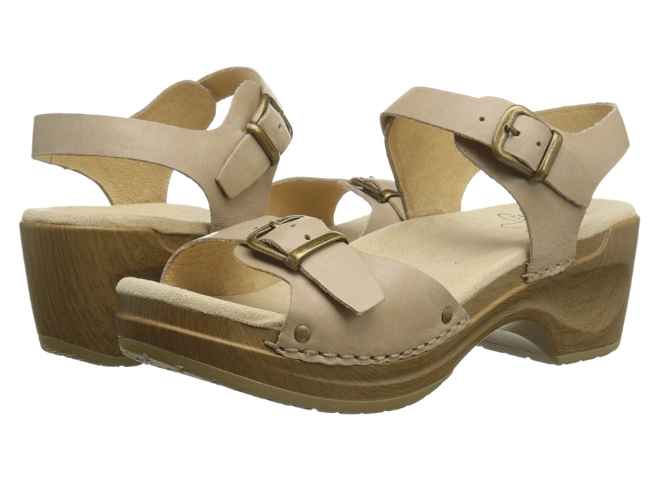 Sanita - Davia (Nude) Women's Sandals