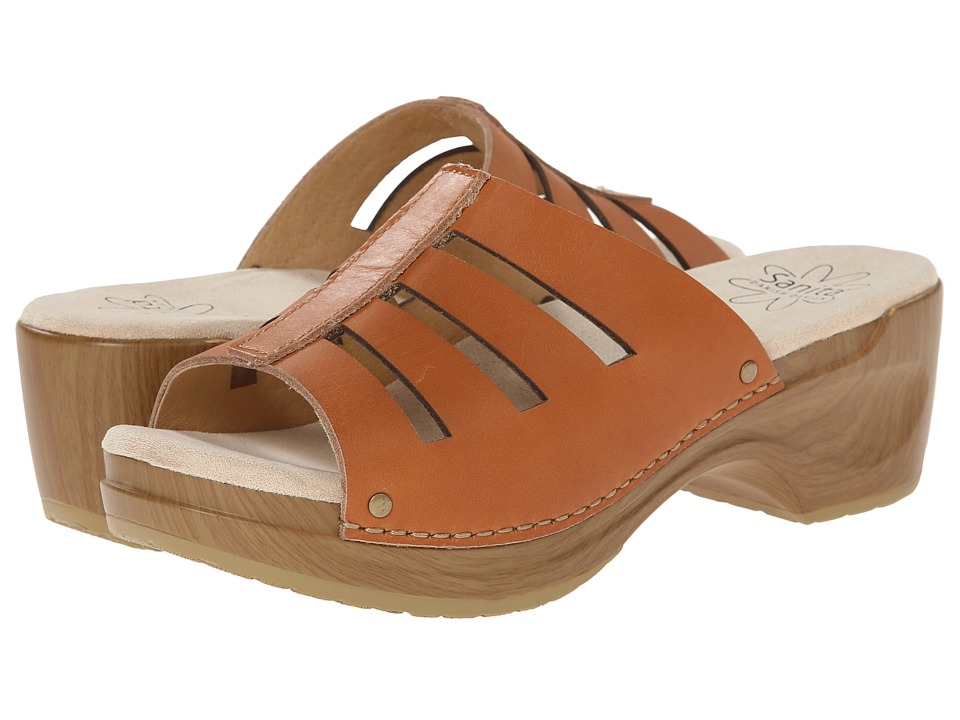 Sanita - Dasha (Tan) Women's Clog/Mule Shoes