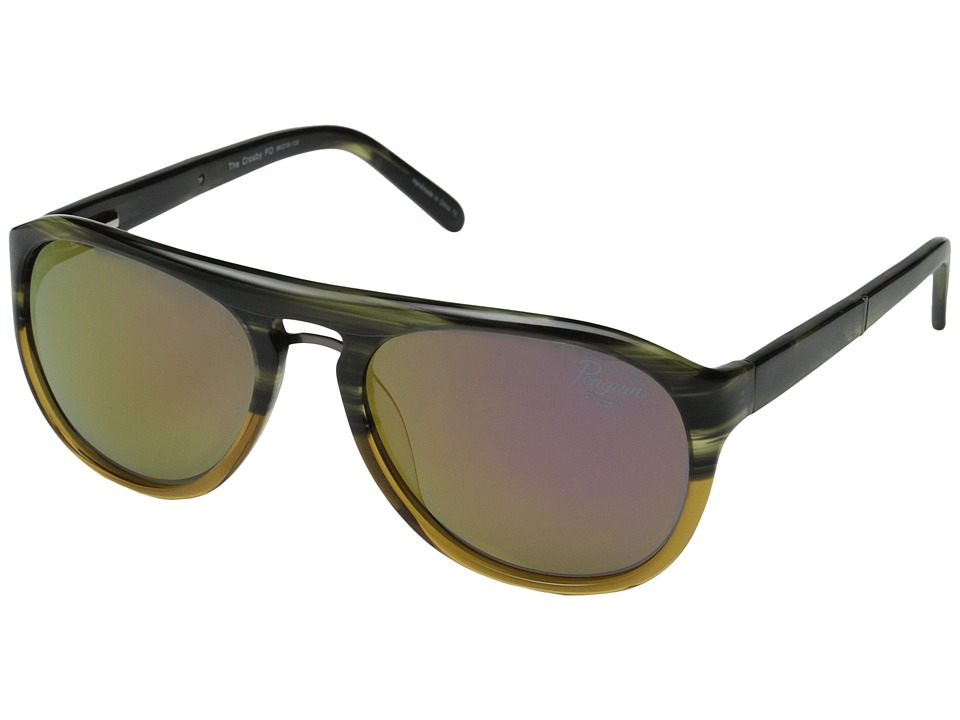 Original Penguin - The Crosby (Olive) Fashion Sunglasses