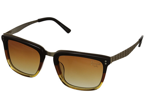 Original Penguin - The Brooklyn (Brown/Orange/Gold) Fashion Sunglasses