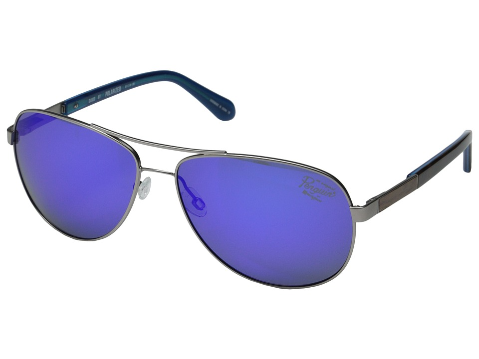 Original Penguin - The Davis (Blue Mirror) Fashion Sunglasses