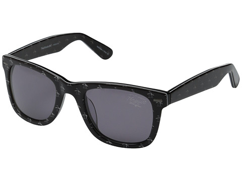 Original Penguin - The Woods (Black/White) Fashion Sunglasses