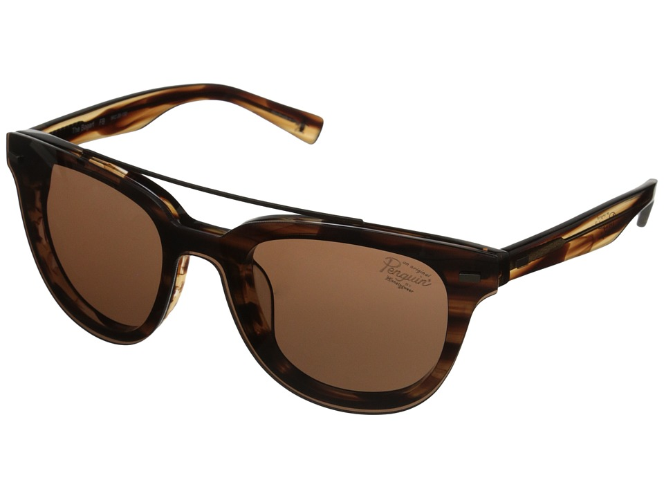 Original Penguin - The Bogart (Feathered Brown) Fashion Sunglasses