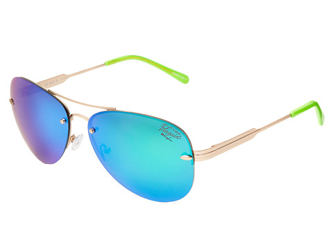 Original Penguin - The Bates (Green Revo) Fashion Sunglasses