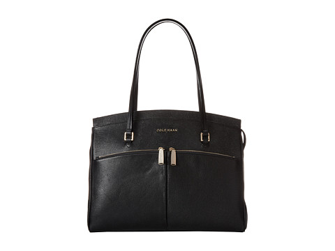 Cole Haan - Reddington Satchel (Black) Satchel Handbags