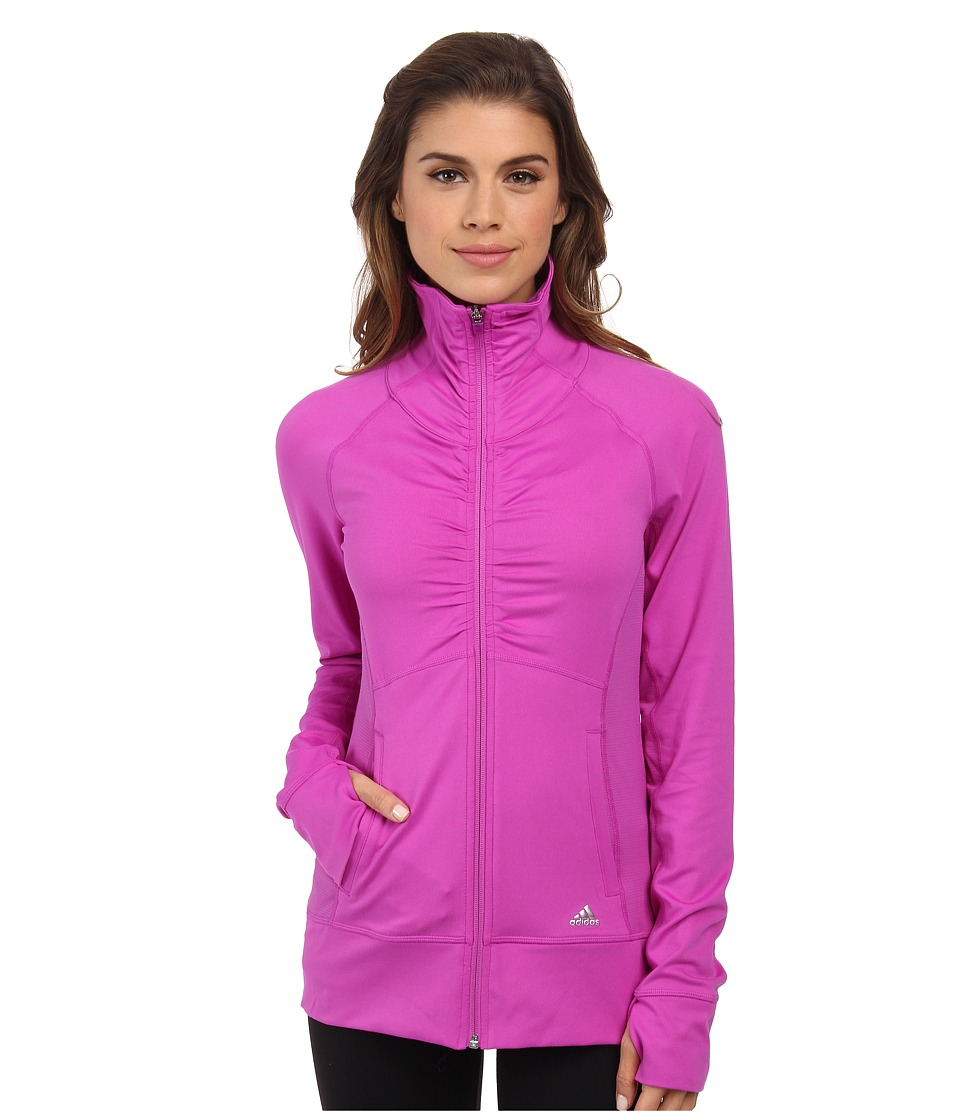 adidas Outdoor - Ultimate Jacket (Flash Pink) Women's Workout