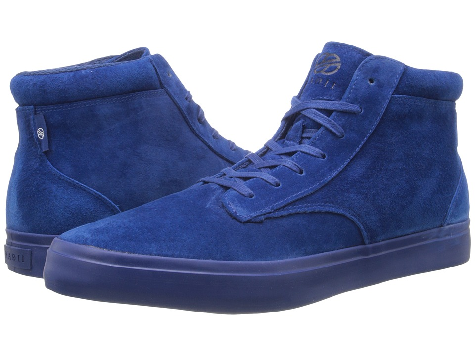 radii Footwear - Basic (Navy Navy Suede) Men